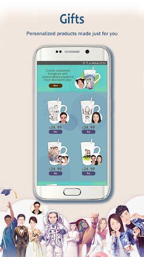MomentCam Cartoons & Stickers screenshot 5