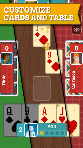 Euchre Free: Classic Card Games For Addict Players apkpoly screenshots 7