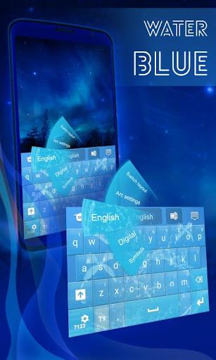 水藍色鍵盤GO