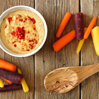 Mango-Red Pepper Hummus