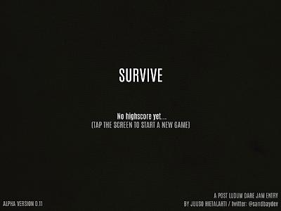 Survive - Wilderness survival v0.15