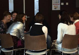 Photo: Intervisieonderwerp 'Hoe bewaak ik mijn grenzen?' met secretaressecoach Ingrid Geul.