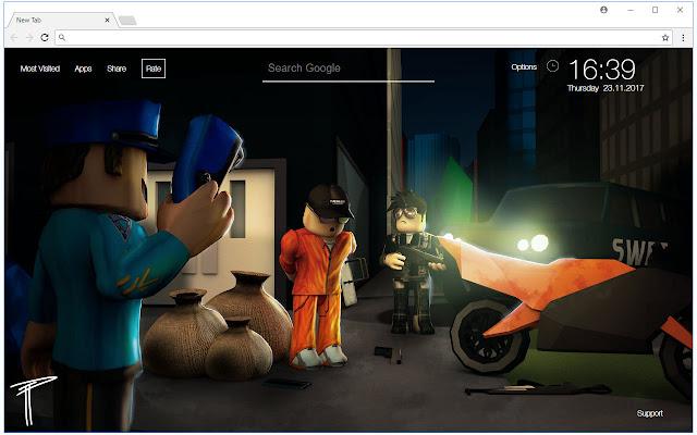 Roblox Jailbreak Game Download Roblox Jailbreak Wallpapers Hd Custom New Tab