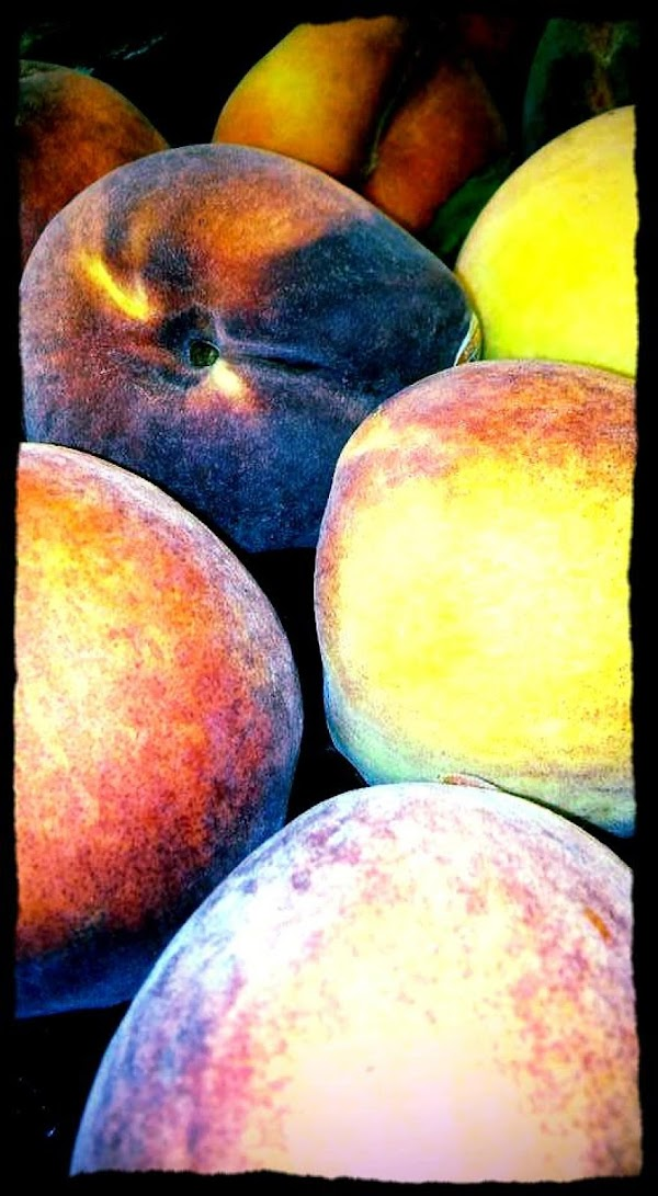 Fresh peaches should not be mushy, or unripe, but they should be firm and...
