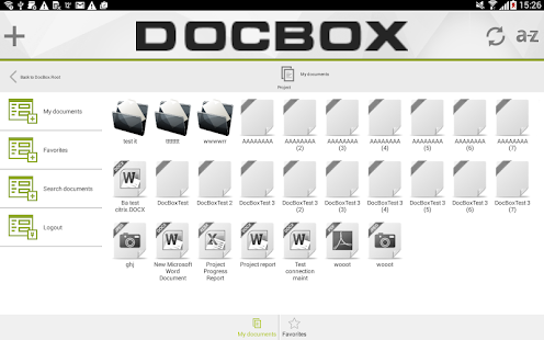 DocBox screenshot