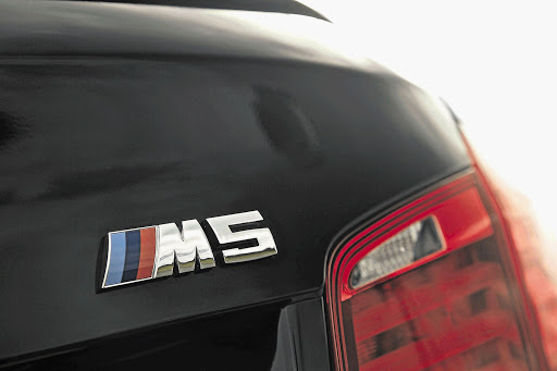 POWER OF FIVE: Iconic M5 logo