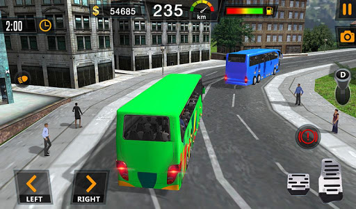 Auto Bus Driving 2019 - City Coach Simulator 1.0.4 Screenshots 13