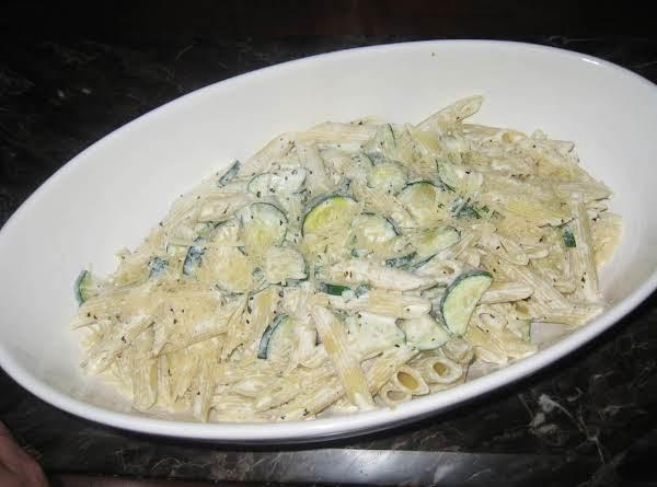 Zucchini Ricotta Pasta Recipe