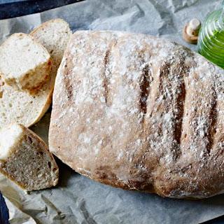 Rustic Spanish bread (Pan Rustico).