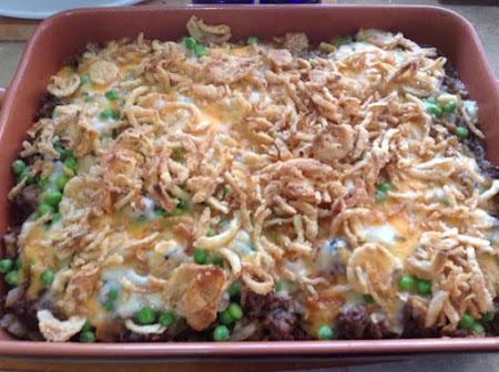 Beef & Hash Browns Hot Dish Recipe