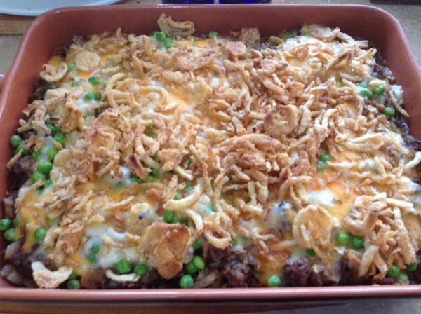 Beef & Hash Browns Hot Dish Recipe