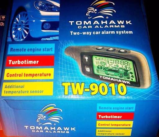Tomahawk 2 way car alarm
