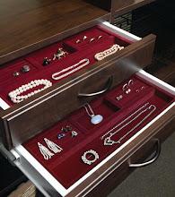 Photo: Closet detail: jewelry storage