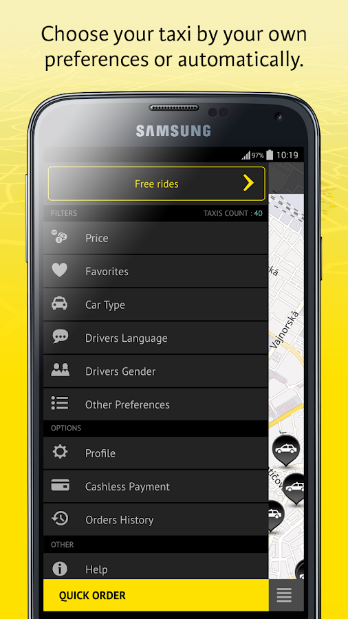 HOPIN TAXI- screenshot