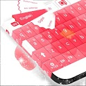 Keyboard Flower Theme Free icon