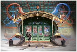 Photo: 2007 01 04 - R 06 12 16 085 - D 080 - Juchnelda vor dem Tor der Zollern