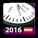 2016 Österreich Kalender icon