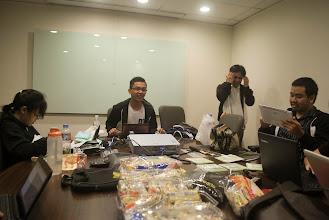 Photo: the board room