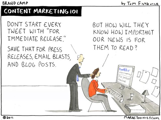 Content Marketing 101 with Marketoonist