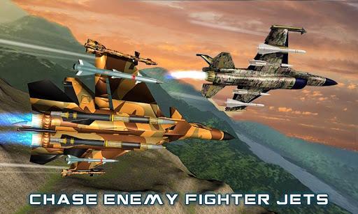 US Air Force Military Pilot Sky Battle 3D filehippodl screenshot 1