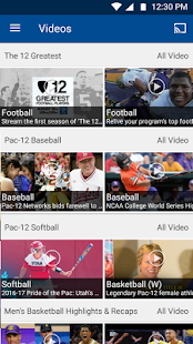 Pac-12 Now- screenshot thumbnail