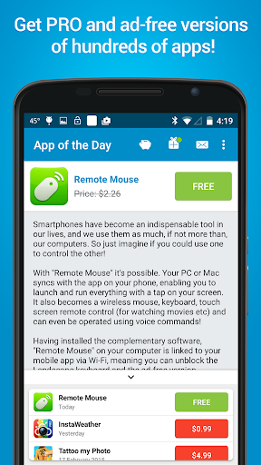 App of the Day - 100% Free screenshot 1