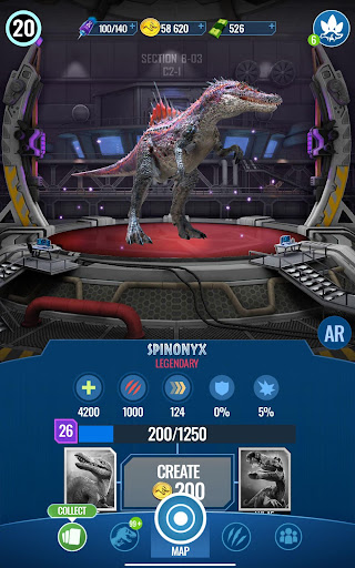 Jurassic World Alive screenshots 23