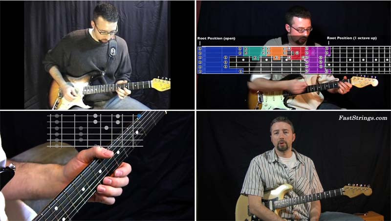 The Woodshed Lessons - The 5 Essential Blues Boxes