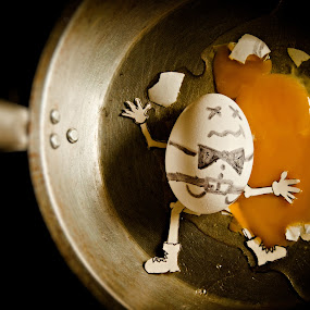 crime scene by Ben Brian Banao - Artistic Objects Other Objects ( icewater, pinay, pinoy, humpty dumpty, philippines )