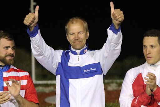 Mika Forss saavutti kakkossijan ohjastajien MM-kilpailussa.