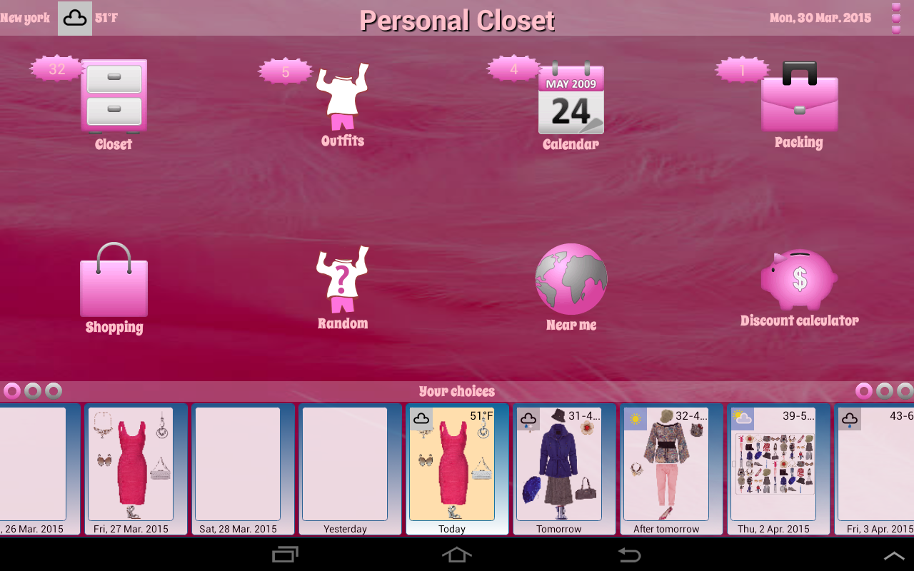 personal closet android apps on google play