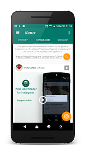 iGetter「Pro」- Quick save video & story 4.4.27-pro-upto-4.3.74-190929-1816-645ab85 (Paid)