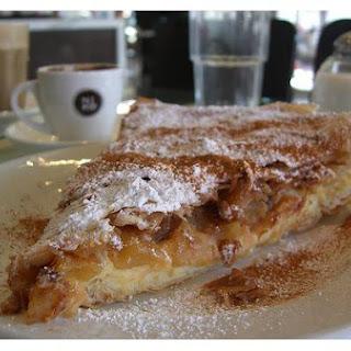 Greek Custard Pie.