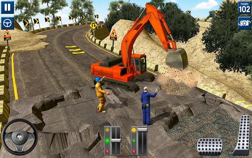 Code Triche lourd excavatrice simulateur 2020: 3d excavatrice APK MOD screenshots 4