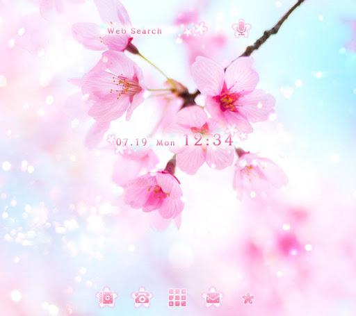 桜ひとひら-無料着せ替えアプリ