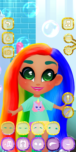 Candy Hair Salon - Doll Girl Games ss1