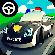 Cop car games for little kids