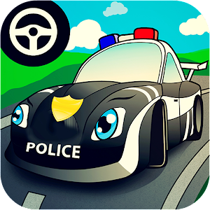 cop car games for little kids