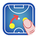 Coach Tactic Board: Futsal icon