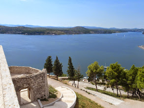 Photo: View from the fortress Saint-Michel - Sibenik