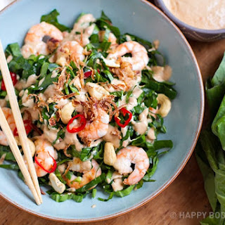 Green Salad With Prawns Recipes