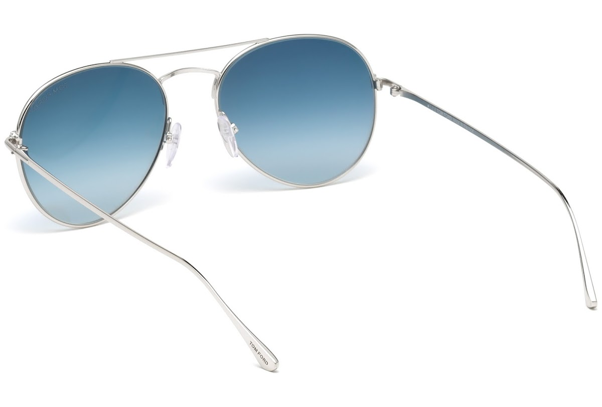 8c34348bf850 Sunglasses Tom Ford Ace-02 FT0551 C55 18X (shiny rhodium   blu mirror)