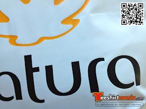 Photo: Doudoune personnalisée en flex (flocage 2 couleurs) NATURA BRASIL