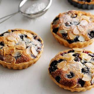 Blueberry Frangipane Tarts.