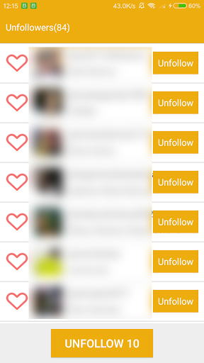 Unfollow Pro for Instagram 1.1.5 screenshots 2