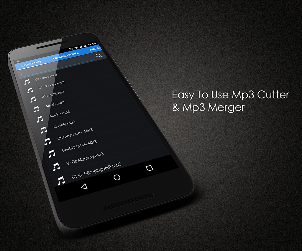Screenshots of MP3 Cutter for iPhone