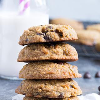Coconut Flour Chocolate Chip Cookies {Paleo, Nut Free}.