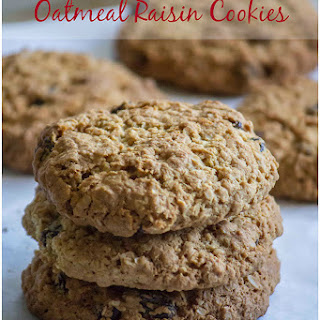 Oatmeal Raisin Cookies for 3 years of Blogging !