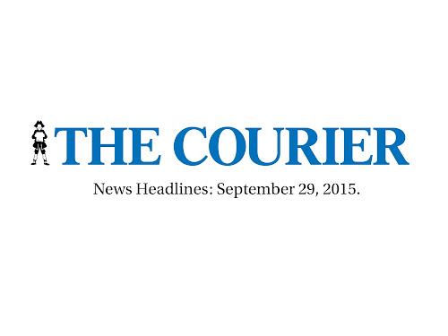 News Headlines: September 29, 2015