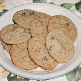 Chocolate Chip Oatmeal Cookies.